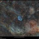 Croissant in Cygnus (Hubble Palette version),                                Terry Hancock