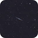 ngc5907 - 27th of May - 156 120 secs unguided subs,                                Stefano Ciapetti