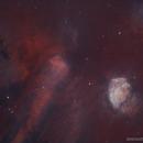 Sh2-235 • Rare Collision Nebula in HSS,                                Douglas J Struble