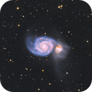 M51 Whirlpool Galaxy,                                tbcgeorge