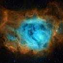 The Lagoon Nebula M8 in SHO,                                Wissam Ayoub