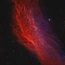 California Nebula - NGC1499 - Bicolor 2 pane mosaic,                                Arno Rottal