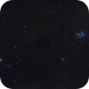 Comet 46p/Wirtanen between Hyades and Pleiades,                                AC1000