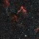LBN 625 - IC 63 - Gamma Cas Nebula - HOO Narrowband - Esprit 120 - ASI1600MM,                                Rowland Archer