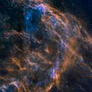 "The DWB 111 & 119 ""Propeller Nebula"" section of the Cygnus-X star forming region,                                Jeffrey K Lovelace"