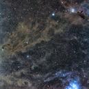 Pleiades (M45) ~ California Nebula,                                astrodabo