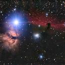Nebulosa de la Llama y Cabeza de Caballo,                                Joanot