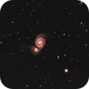 Whirlpool Galaxy,                                Comatater