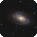 M81 - M82 in RGB with HO addition,                                Uwe Deutermann