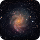 First LRGB synthesis - C12/NGC6946/Fireworks Galaxy,                                Maxwell Lamb