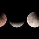 Partial Lunar Eclipse - July 16th, 2019,                                Michael S.