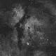 Gamma Cygni Nebula (IC1318) in H-alpha,                                JDJ