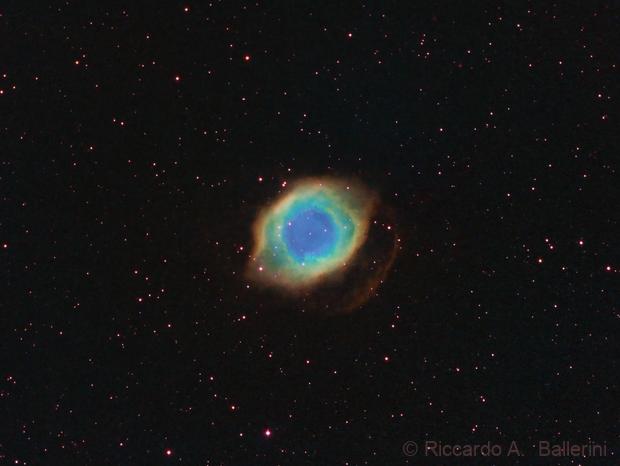NGC 7293 - Helix Nebula,                                Riccardo A. Balle...
