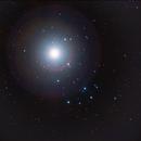 Venus in the Pleiades April 2020,                                Andrew Barton