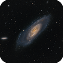 M106 with companions and colorful stars,                                Stephan Linhart
