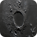 Moon - Plato Crater,                                Steve Ludwig
