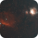 Wide Field Capture of Horsehead B33 and Orion Nebula M42 Region,                                Michael Mantini