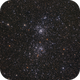 NGC 869 & NGC 884 - The Double Cluster,                                Graeme Coates