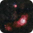 M8 - Nébuleuse du Lagon,                                FHoTo