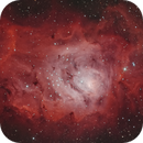 M8 la Lagune (lagoon nebula),                                Caroline Berger