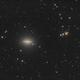 Galaxie du sombrero (M104) - Sadr Espagne,                                Julien Bourdette