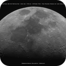 Moon mosaic with the small Celestron 80 Ed,                                Uwe Meiling