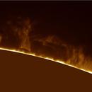 Estesa Protuberanza Solare del 2019/06/09,                                gioveluna