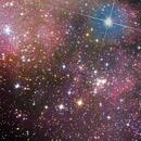 IC 1318 The Sadr region at the centre of Cygnus's cross,                                Moorefam