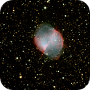 M27 - The Dumbell Nebula ,                                Rick Breen