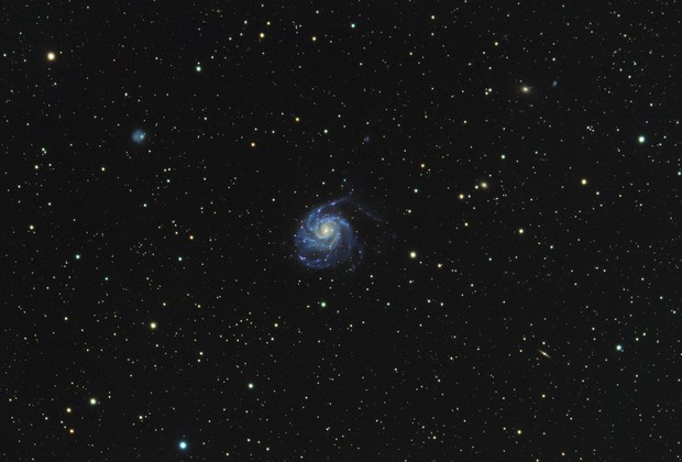 M101 - First time in Bortle 4,                                Marc Mantha