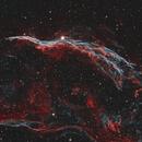 NGC6960 The Witch's Broom / The Western Veil Nebula in HOO Narrowband,                                Eshan Toorabally