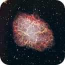 The Crab Nebula in HA/RGB,                                Jim Matzger