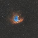 NGC281 - Pacman Nebula (Different palette),                                mackiedlm