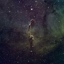 IC1396 Elephants Trunk Hubble Palette,                                Stefaan Van Mieghem