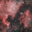 North America & Pelican Nebula,                                Kristof Dabrowski