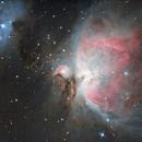 M42 la Grande Nébuleuse d'Orion,                                Ymevel