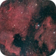 The North America  and The Pelican Nebulas,                                Mike