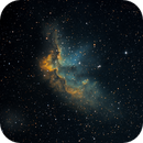 NGC7380 Wizard nebula in HST,                                tomekfsx