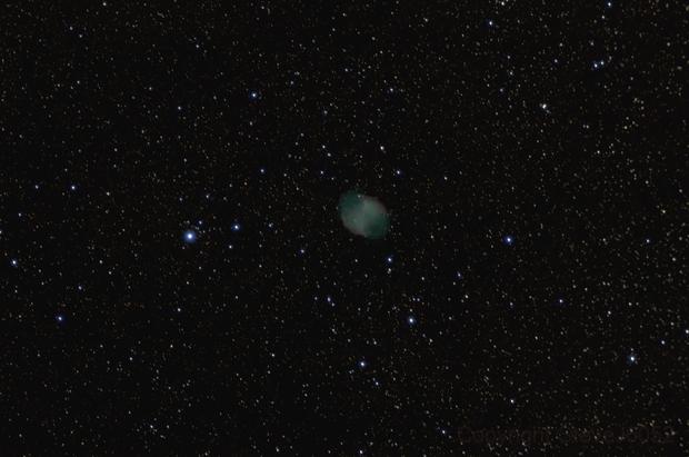 Dumbell NEbula,                                SteveJ6052