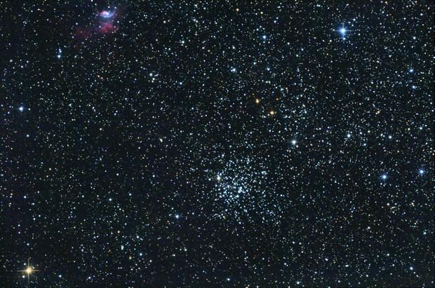M52 + NGC7635,                                TrouNoir25