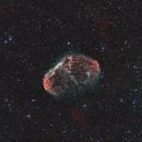The Cosmic Brain (Crescent Nebula, NGC 6888),                                Scott Denning