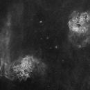 NGC 1893 - IC 405 - Ha,                                Lensman57