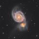 Whirlpool Galaxy,                                Chris Smith