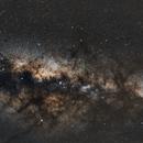 Wide field galaxy over Mauritius,                                Dgillick87