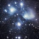 M45 pleiades cluster,                                KimKiDae
