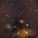 Región de Antares - Rho Ophiuchi,                                Alfredo Beltrán