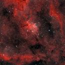 IC1805 narrowband natural color,                                Marco Favro