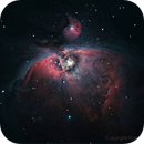 M42 : one year after my begining in astrophotography on deep space,                                Francis Neptunion31