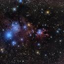 NGC2264 Cone Nebula and Christmas Tree Cluster,                                Siegfried
