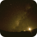 Milky Way with setting Moon & Venus,                                Jan Scheers